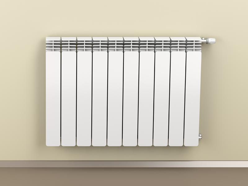 Tinteggiare il vecchio termosifone